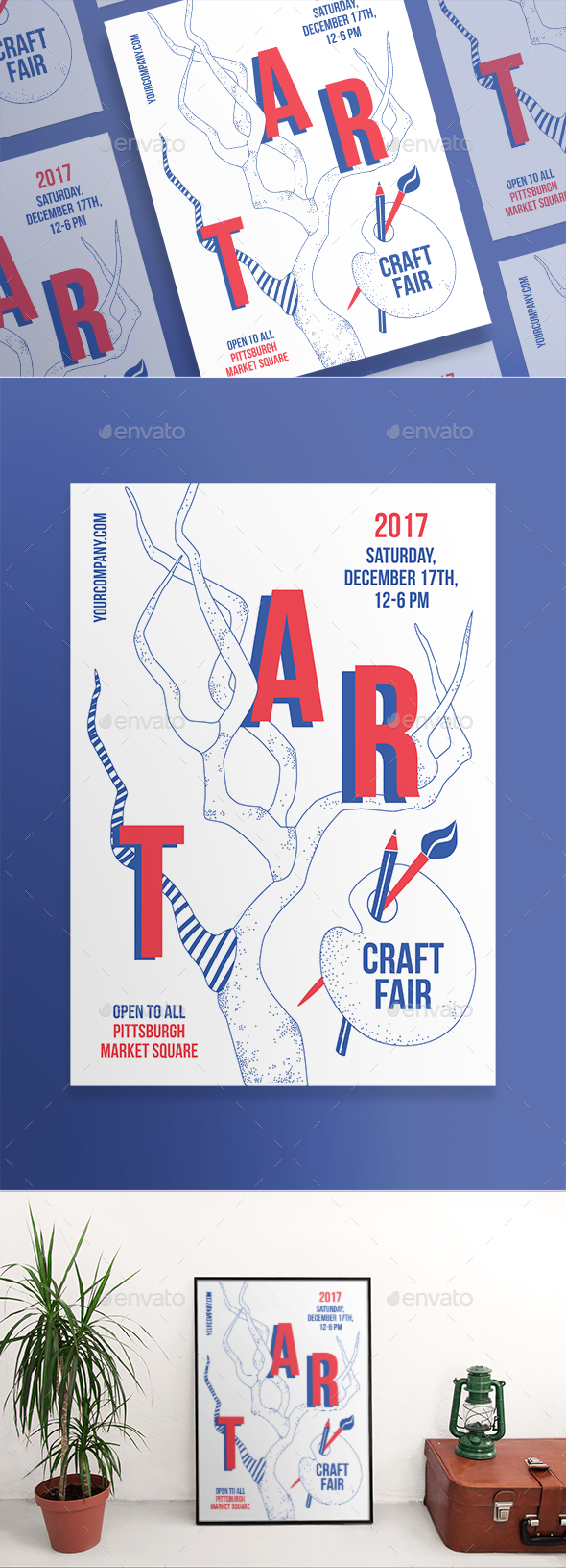 Craft Fair Posters - Miscellaneous Events