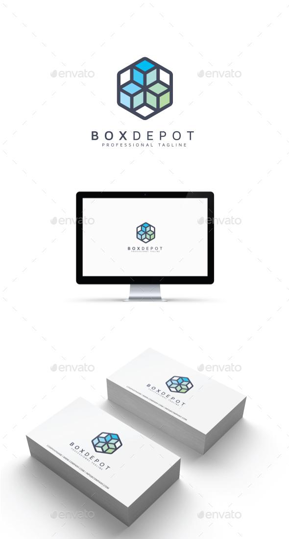 GraphicRiver Box Depot Logo 20464926