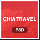 Chiatravel - Travel & Hotel Booking PSD template