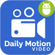 Daily Motion Video App with Material Design