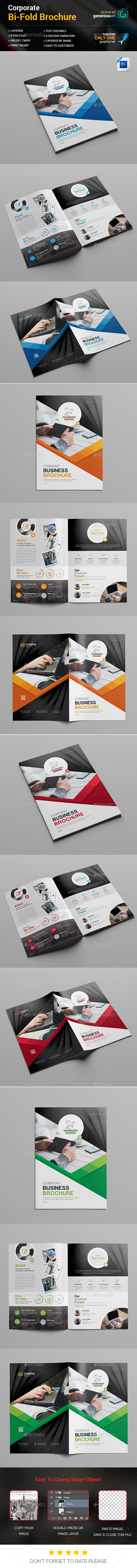 GraphicRiver Bi-Fold Brochure Template 20464952