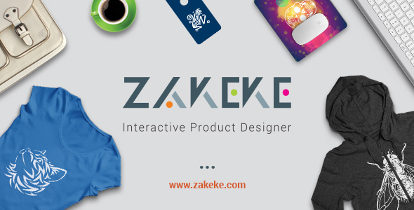Zakeke 200 - Interactive Product Designer for WordPress / WooCommerce