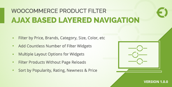 WooCommerce Product Filter - Ajax Layered Navigation