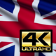 United Kingdom Flag 4K