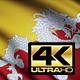 Bhutan Flag 4K