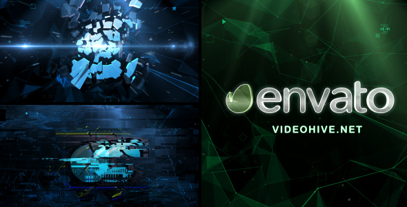 VideoHive Plexus Impact and Glitches 20465126