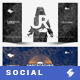 Electronic Music Party vol.27 - Facebook Post Banner Templates - GraphicRiver Item for Sale