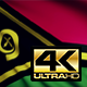 Vanuatu Flag 4K - VideoHive Item for Sale