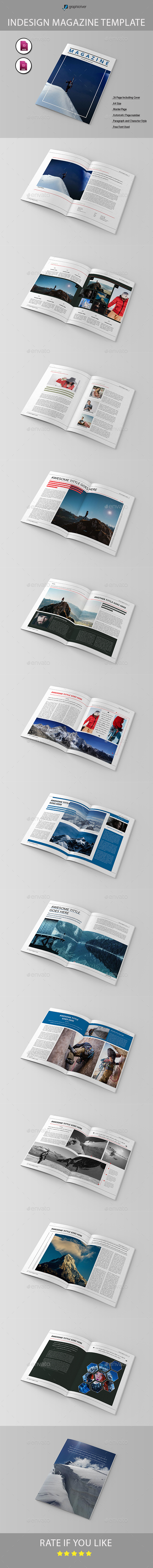 GraphicRiver Magazine Template 20465216