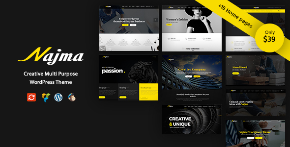 Najma - Creative Multi-Purpose WordPress Theme