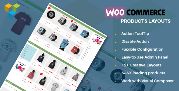 WooCommerce Products Layouts - Multi-Layout for WooCommerce - CodeCanyon Item for Sale