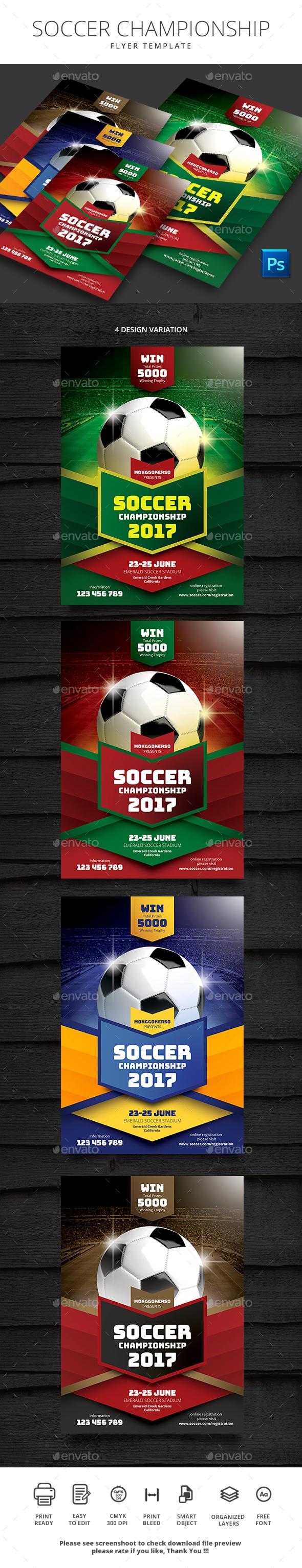 GraphicRiver Soccer Championship 20465264