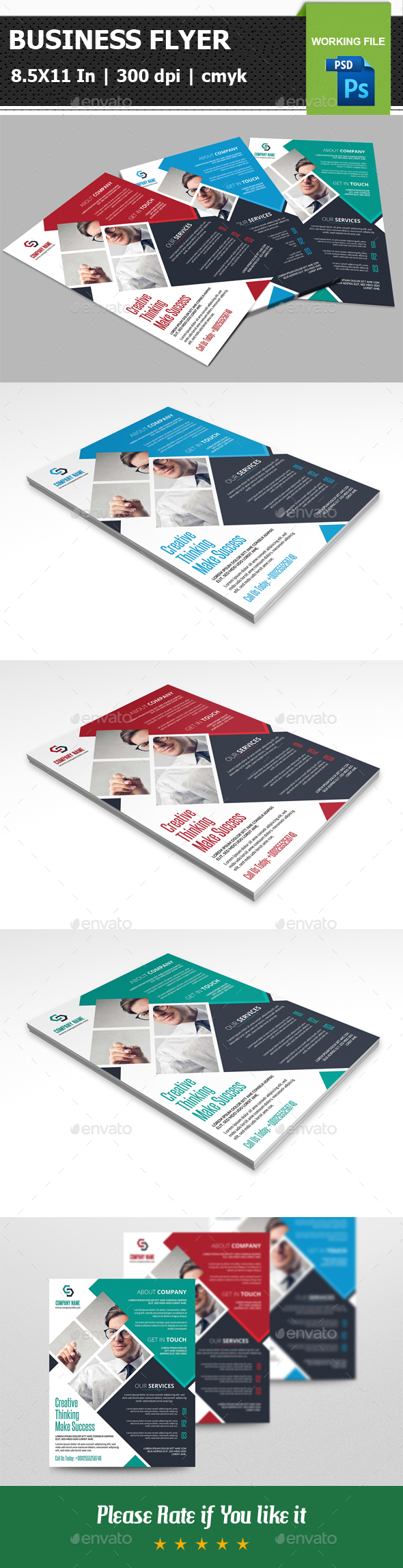 Business Flyer V08 - Corporate Flyers