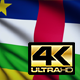 Central African Republic Flag 4K - VideoHive Item for Sale