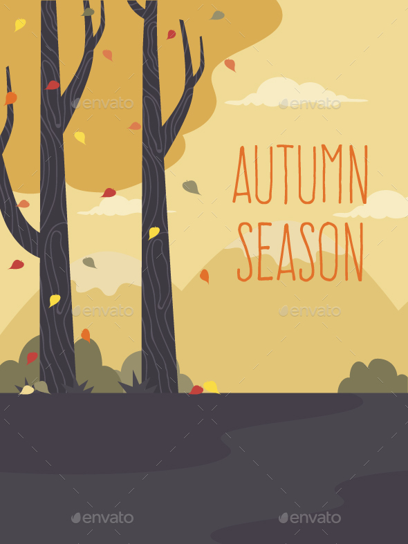 Autumn Landscape - Seasons Nature