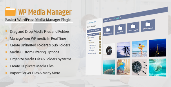 WP Media Manager - The Easiest WordPress Media Manager Plugin