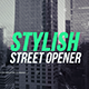 Fashion Street Opener - VideoHive Item for Sale