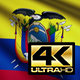 Ecuador Flag 4K - VideoHive Item for Sale