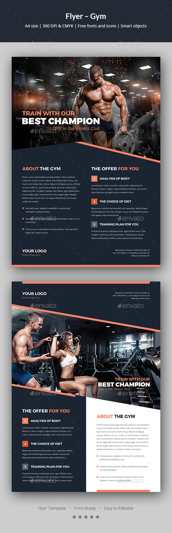 Flyer – Gym - Corporate Flyers