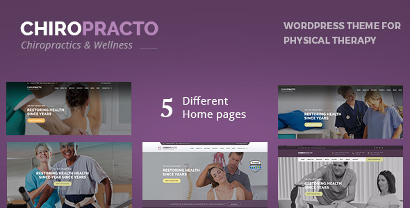 Chiropracto - Physical Therapy WordPress Theme - Health & Beauty Retail