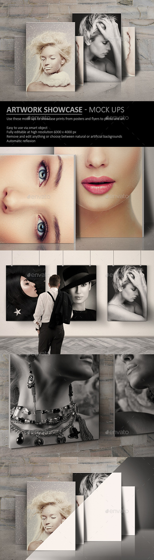 GraphicRiver Artwork Showcase Mock Ups 20465663