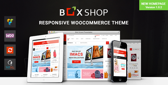 BoxShop - Responsive WooCommerce WordPress Theme