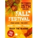 Fall Harvest Festival, Autumn Party Banner Design - GraphicRiver Item for Sale