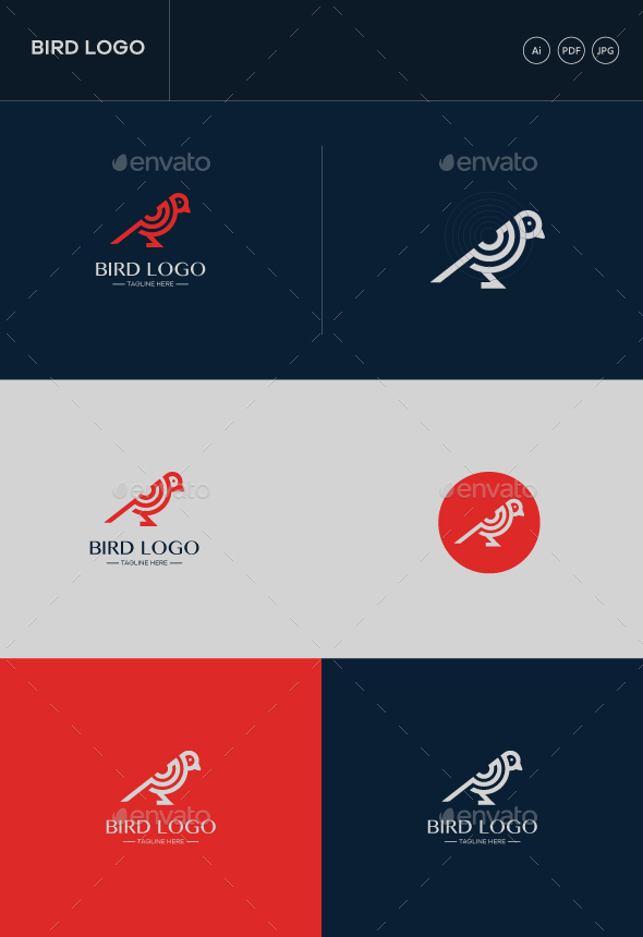 GraphicRiver Bird Stock Logo 20465904
