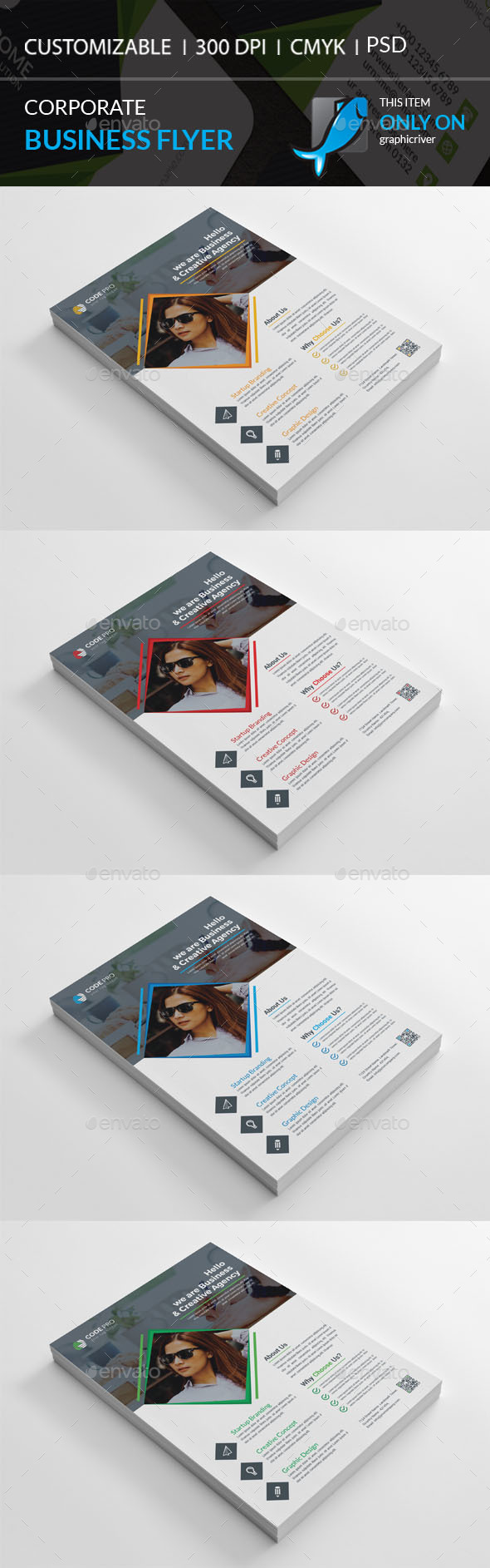 GraphicRiver Corporate Flyer 20465974