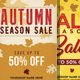 Autumn Fall Sale Flyers