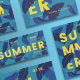 Summer Leaves Flyers-Graphicriver中文最全的素材分享平台