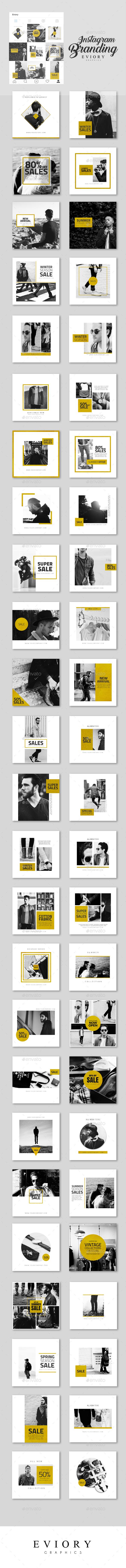 GraphicRiver Instagram Branding Gold Edition 20466083