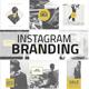 Instagram Branding Gold Edition