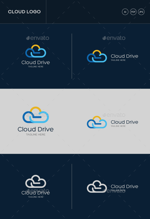 GraphicRiver Cloud Stock Logo 20466084