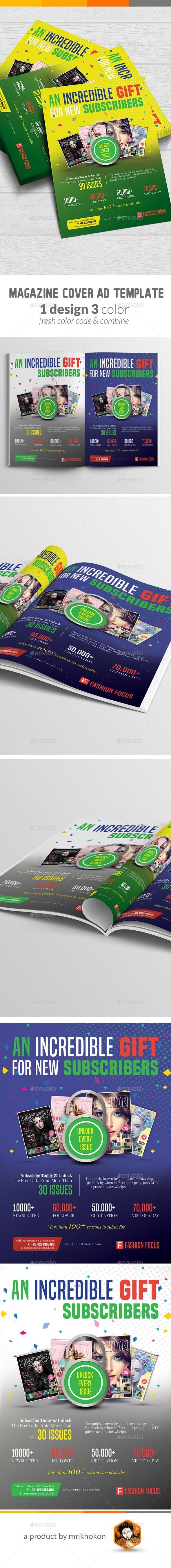 GraphicRiver Magazine Ad 20466139