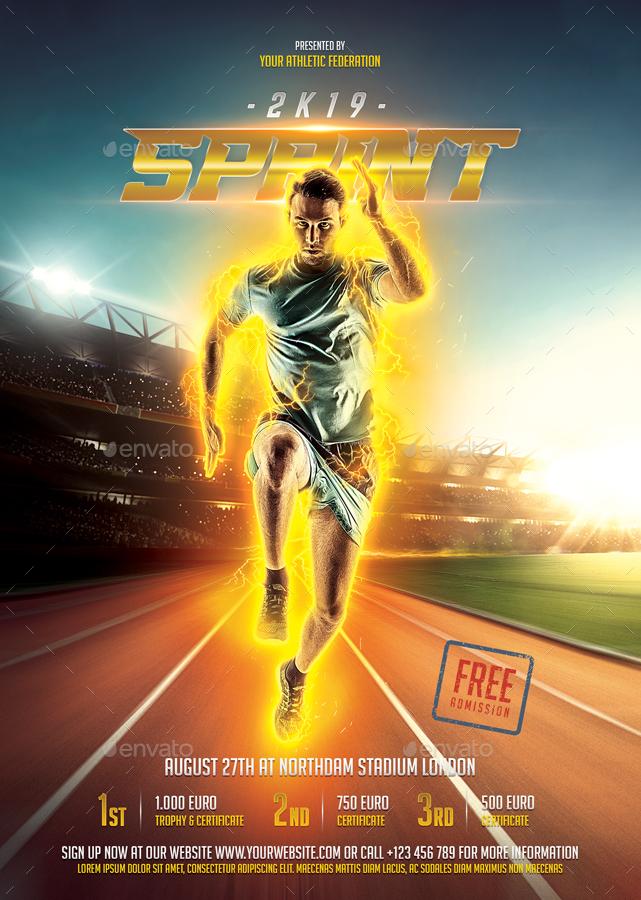 Sprint Running Flyer