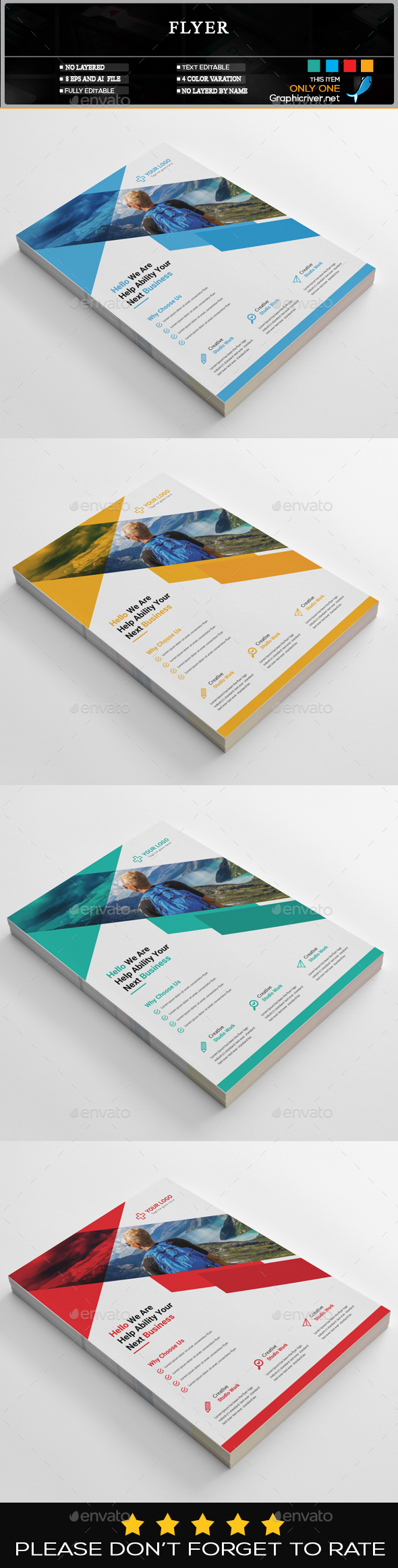 GraphicRiver Flyer 20466179