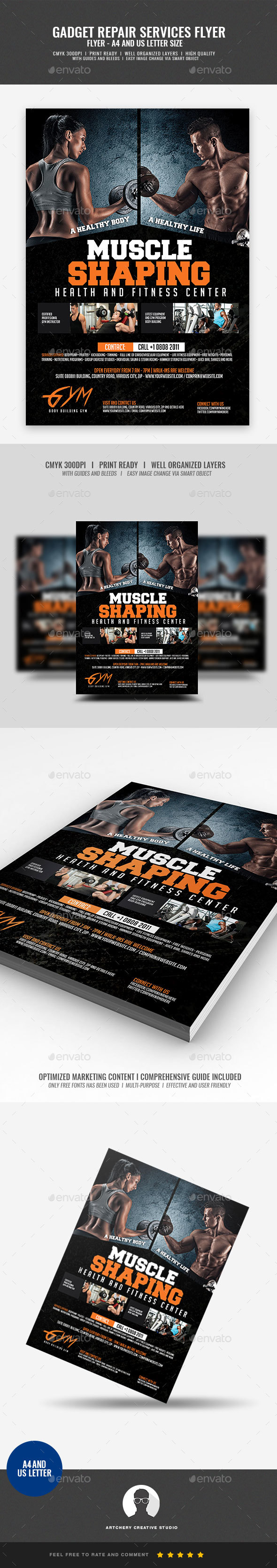 Gym Flyer - Corporate Flyers