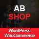 AbShop - Responsive Multipurpose WooCommerce WordPress  Theme