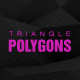 Triangle Polygons Loop Background
