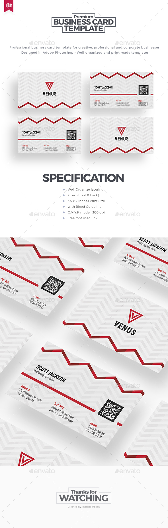 GraphicRiver Business Card Template 20466647