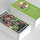 Business Card – Organic Food - GraphicRiver Item for Sale