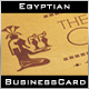 Pharaoh's Castle Business Card - GraphicRiver Item for Sale