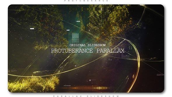 Protuberance Parallax Slideshow