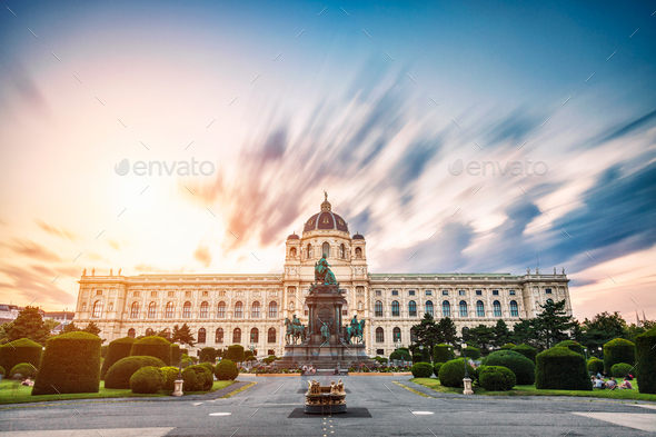 Museum of natural history Vienna Austria - Stock Photo - Images