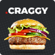 Craggy - Food and Services Multipurpose WordPress Theme