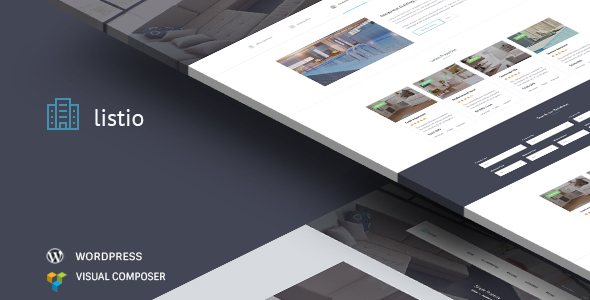 Listio - Directory Listing & Real Estate WordPress Theme