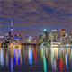 Toronto, Canada - Timelapse - Nightime from Polson Pier - VideoHive Item for Sale