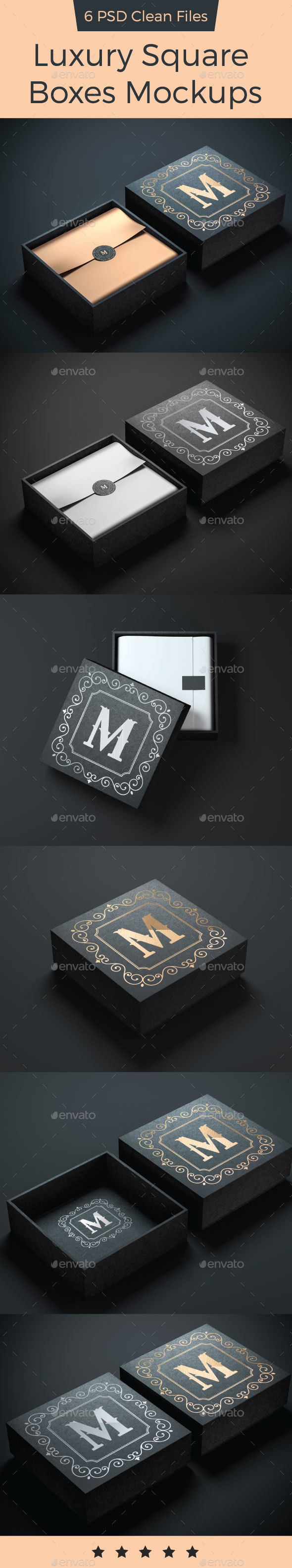 Square Box Mockup - Beauty Packaging
