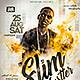 Street Rap Artist Flyer - GraphicRiver Item for Sale
